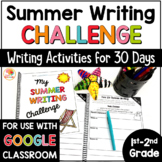 Summer Writing Challenge: 30 Days of Writing for 1st and 2