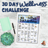 30 Day Wellness Challenge | Teacher Self Care | Wellness