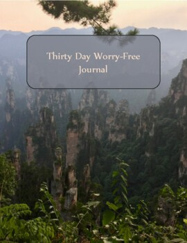 30-Day Worry-free Journal