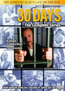 30 Days: Complete Series short answer/fill-in-the-blank movie guide