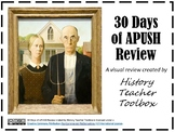 30 Days of APUSH Review