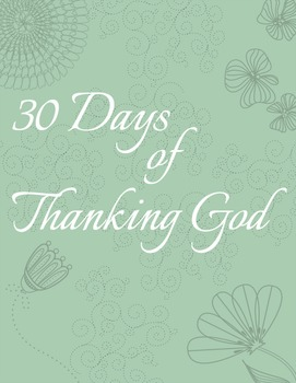 30 Days of Thanking God