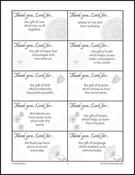 30 Days of Thanking God