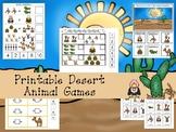 30 Desert Animals Games Download. Games and Activities in a ZIP file.