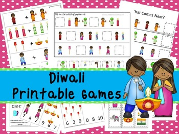 30 Diwali Games Download. Games and Activities in PDF files.