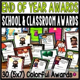 End of Year Awards Classroom and School Superlatives