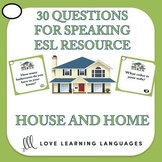 30 ESL - ELL conversation starters and speaking prompts -