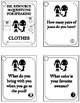 30 ESL - ELL Conversation starters and speaking prompts - CLOTHES