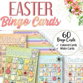 30 Easter Bingo Cards