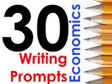 30 Economics Writing Prompts