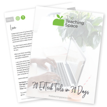 30 EdTech Tools in 30 Days