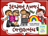 Student Award Certificates....Unique Enough for EVERY Student