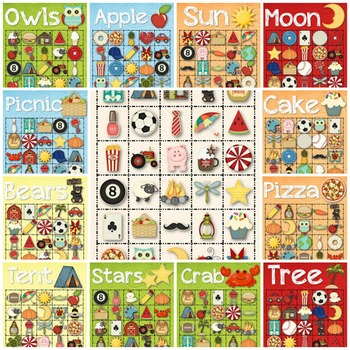 30 Everyday Bingo Cards - INSTANT DOWNLOAD