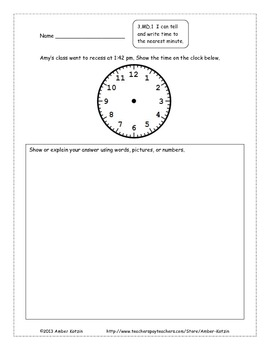 30 Extended Response Math Word Problems for Measurement & Data