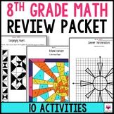 8th Grade Math Summer Review Packet