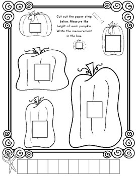 FALL Themed Kindergarten Common Core Print and Go Math and Reading Activities