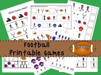 30 Football Games Download. Games and Activities in PDF files.