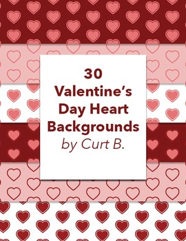 30 Free Heart Backgrounds for Valentine's Day