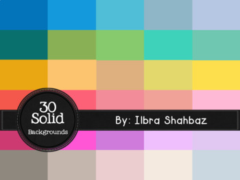 30 {Free} Solid Digital Paper Backgrounds