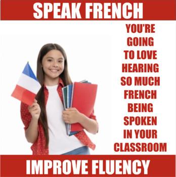 30 French Speaking Prompts - Au Restaurant