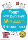 30 French Word Search Puzzles