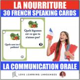 30 French speaking prompts - La nourriture - Food