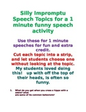30 Funny Impromptu Speech Topics to Build Confidence and F