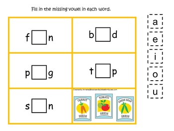 30 Gardening Preschool Learning Games Download. ZIP file.