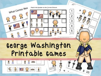 30 George Washington Games Download. Games and Activities in PDF files.