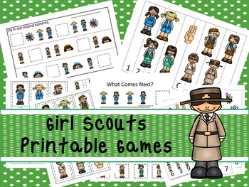 30 Girl Scouts Games Download. Games and Activities in PDF files.
