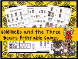 30 Goldilocks and the 3 Bears Games Download. Games and Activities in PDF files.