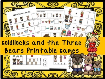 30 Goldilocks and the 3 Bears Games Download. Games and Ac