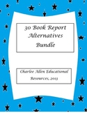 30 Great Book Report Alternative Projects to use with any book! Bundle!