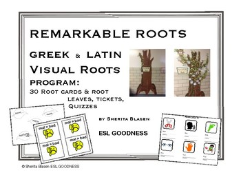 Remarkable Roots - Greek and Latin Visual Roots Program