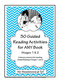 30 Guided Reading Activities for ANY Book