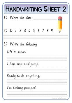 30 handwriting practice worksheets new zealand pre cursive font by bex. Black Bedroom Furniture Sets. Home Design Ideas