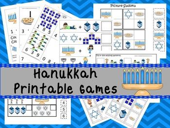 30 Hanukkah Games Download. Games and Activities in PDF files.