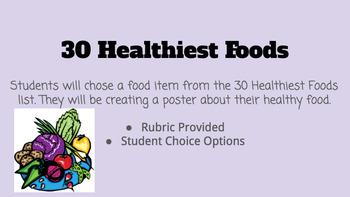 30 Healthiest Foods