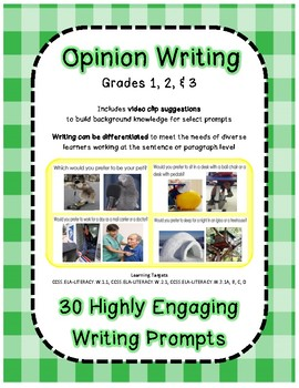 30 Highly Engaging Opinion Writing Prompts
