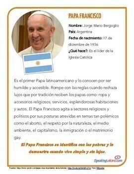 30 Hispanos Destacados - Hispanic Heritage Month (Spanish Version)