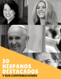 30 Hispanos Destacados - Hispanic Heritage Month (Spanish