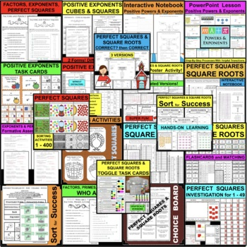 30 INTEGERS Task Cards Compare Order Positive Negative Stations Game Activity
