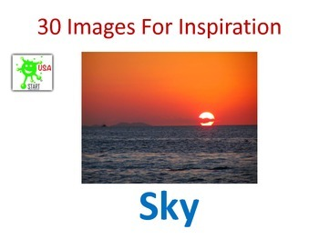 30 Images for Inspiration - Sky