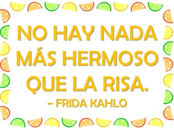 30 Inspirational Quote Signs for Your Classroom (Spanish and English)