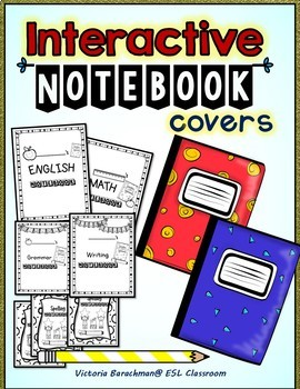30 Interactive Notebooks Covers