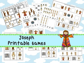 30 Joseph themed Printable Games and Activities. Christian