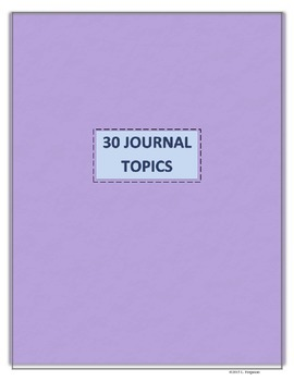 30 Journal Topics to Encourage Reflection and Critical Thinking