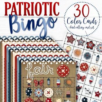 30 July 4th Bingo Cards