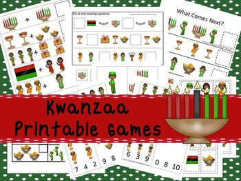 30 Kwanzaa Games Download. Games and Activities in PDF files.