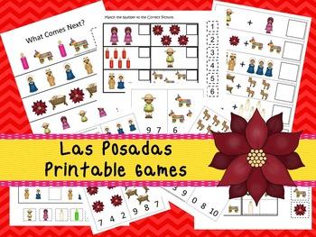 30 Las Posadas Games Download. Games and Activities in PDF files.